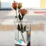 Square Clear Acrylic Vase/Perspex Flower Holder