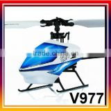 V977 Power Star X1 6CH 2.4G Brushless Flybarless RC Helicopter 3D/6G RTF helicopter using
