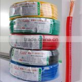 single core electrical pvc wire for building semi-flexible&stranded copper China CCC BVR 450/750V