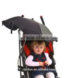 Wholesale baby stroller UV protection umbrella with clip