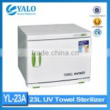 Hot sale !! YL-23A UV Towel Warmer sterilizer for beauty salon 23L uv sterilizer cabinet