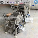 Stainless Steel Plate And Frame Filter Press Brewing Mash Filter Beer Filter