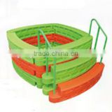 Square children plastic ball pool for sale