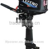 Outboard motors oil type 5hp water cooled two stroke long shaft