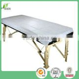14 years factory China supplier produce kinds of nonwoven products PP disposable massage sheet