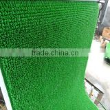 gold washing grass mat