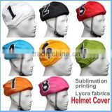 Cycling accessories Helmet Covers Cycling Bike Helmet Lycra spandex stretch Ski Bicycle Helmet Cover