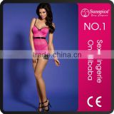 fashion show sleepwear nighty lingerie sexy hot babydoll