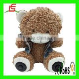 Bluetooth Wireless Micro SD Memory Card Stereo Speaker Teddy Bear Plush Toy