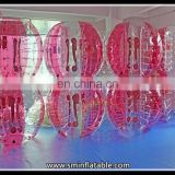 Popular Game inflatable breast pvc ball suit,inflatable tumbler bubble ball,large inflatable beach bumper ball for adult and kid