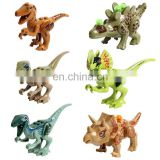 ABS hot kids toys mini blocks dinosaur building blocks toys