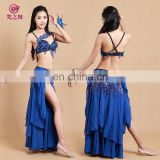 Egyptian Good quality floral belly dance stage costume for women GT-1037#