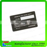 ISO Superior Custom Printing Plastic Signature Strip Card