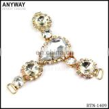 Ladies sandal rhinestone shoes accessories for women shoe