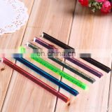 15cm Cute color plastic triangle ruler for students