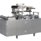220v 50hz Cellophane Overwrapping Machines Tray Sealing Machine