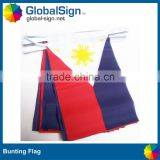 Cheap and high quality triangle flag bunting