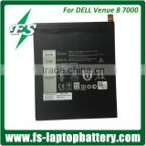 wholesale 100% Genuine Original external laptop battery For Dell Venue 8 7000 Series V87840-16D, K81RP parts                                                                                                         Supplier's Choice