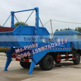 8cbm -10cbm Self loading Garbage Truck Dongfeng Swing Arm Garbage Trucks With Buckets Hot Sales Whataspp 0086 15897603919