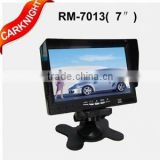 7 inch TFT LCD Car monitor/color Stand-alone TFT LCD Car Monitor with High brightness digital reversing