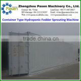Container Type Hydroponic Green Fodder Sprouting Machine| Barley Sprouting System Growing Machine