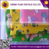 custom printed double-sided cotton flannel fabric