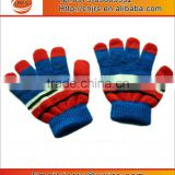 Cheap Winter Kid Children Warm Thick Acrylic Cotton Knitted Hand Gloves