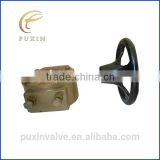 ball valve body valve parts butterfly handle