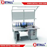 ESD electronic work bench with drawer