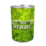 Hot sale candle tin for Valentine/brithday gift ,can candle, canned candle