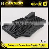Rubber car mats for driver's seat with rest place For Jeep Wrangler JK 2007+ off road parts accessories