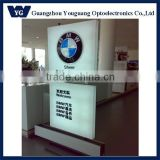Framless Fabric led advertising display/ light box / frameless backlit led light boxes with 80mm in thickness