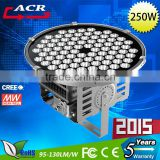 250w 2015 Hot selling led outdoor high bay flood lighting/lamp lights for sport stadium,stage