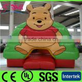 new design bear / pooh inflatable bouncer castle / air bouncer inflatable trampoline / inflatable bouncer house