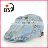 2015 china factory new product sale price hot selling light blue denim golf cap for men                                                                         Quality Choice