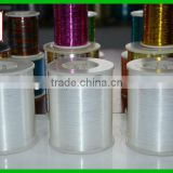 colorless polyester lurex metallic yarn