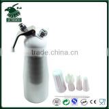 Brushed Stainless Steel Whip Coffee Dessert Fresh Cream Butter Dispenser Whipper Foam Maker