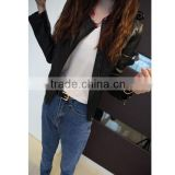 CLPJ 052 cool style fashion leather jacket high fashion pu leather jackets for women 2014 ladies apparel