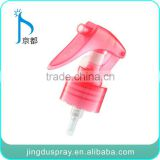 JD-302B hyaline rose red Plastic triger sprayer bottle mini bottle sprayers