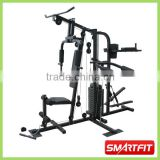 functional 150 lb 3 Station multi Home Gym with stepper whole body training exercise machine equipment