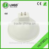 Plastic and aluminum 4w mr16 spot lamp led light