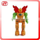 Hot sale item robot plastic model toy with EN71