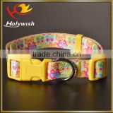 New custom pet dog collars with beautiful printing                                                                         Quality Choice