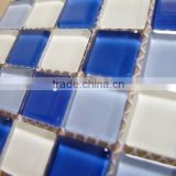 CT07 Blue crystal glass mosaic bali mosaic tile