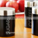2015 Best selling Stainless steel Sugar Canister/Food storage container /Stainless Steel Storage Jars Canister Set