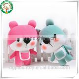 ODM/OEM factory Bear girl doll plush teddy bear doll birthday gift stuffed toys