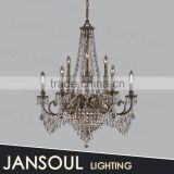 zhongshan cheap vintage indusrial flower delightful pendant lamp rose wrought iron chandelier for sales