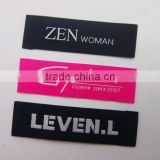 customized clothing double black label price woven label