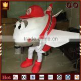 Funny costume type mascot costumes adult airplane costume