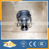 stainless steel quick couping with cylindrical heads type DA